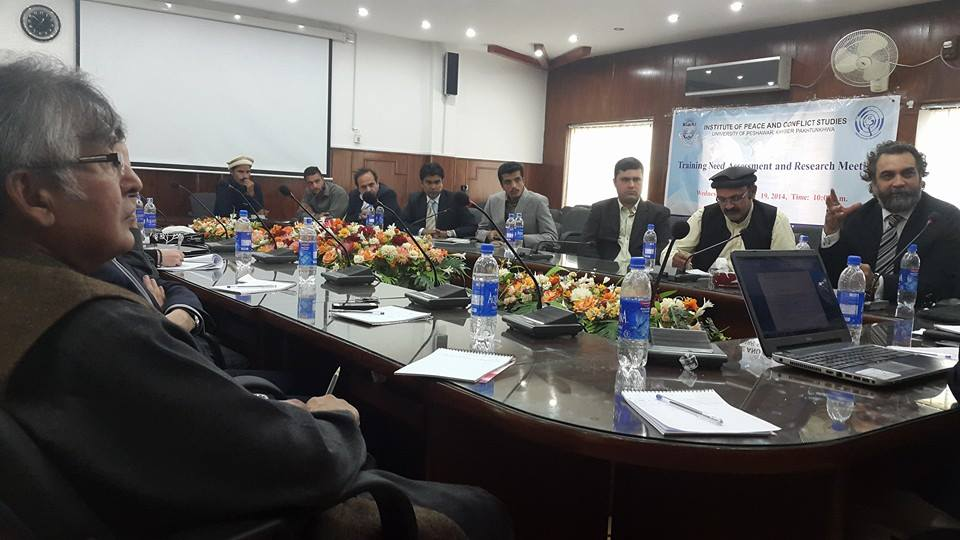 Dean FOSS Prof. Dr. Adnan Sawar Khan participating in the meeting