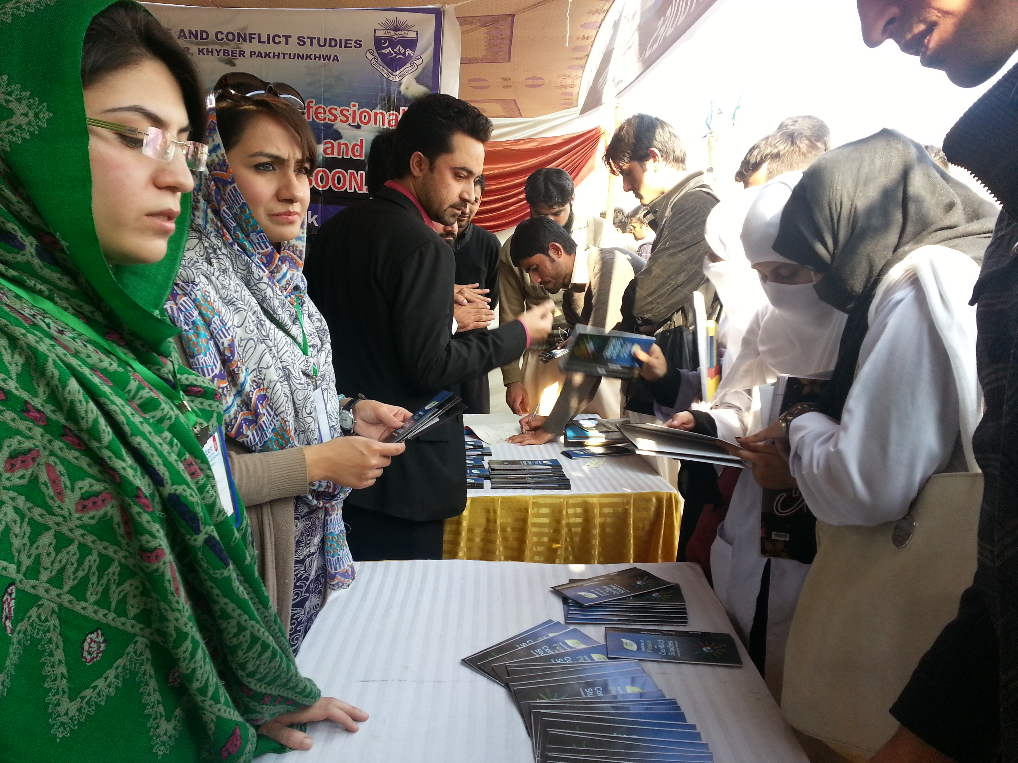Ms. Hina Habib and Ms. Rabia Fayyaz give briefing to students about IPCS