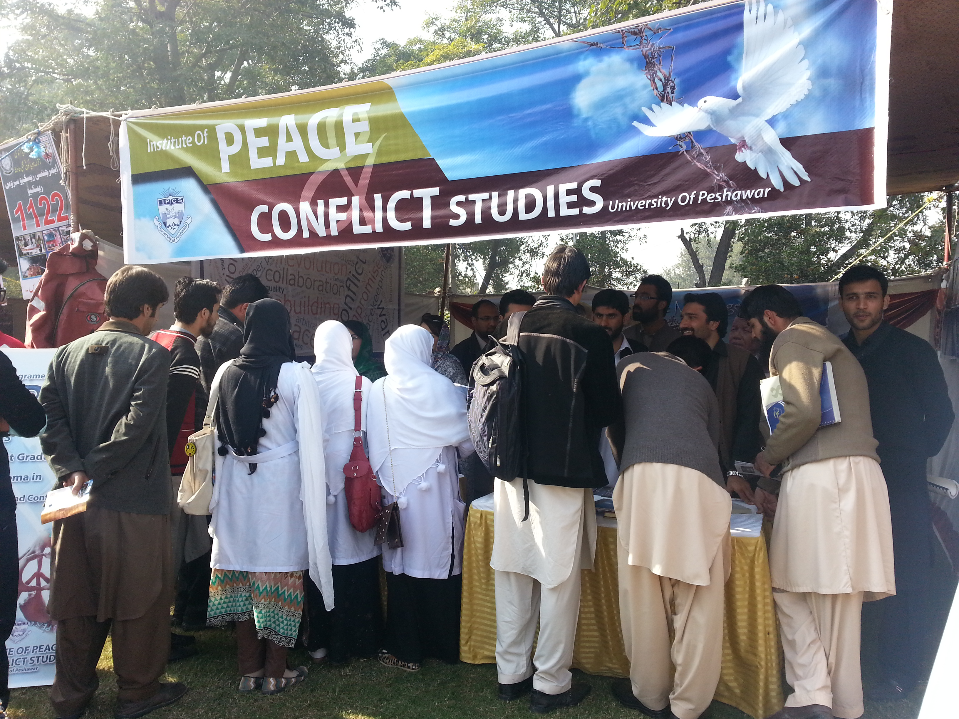 Student are taking keen interest to know about Peace and Conflict Studies