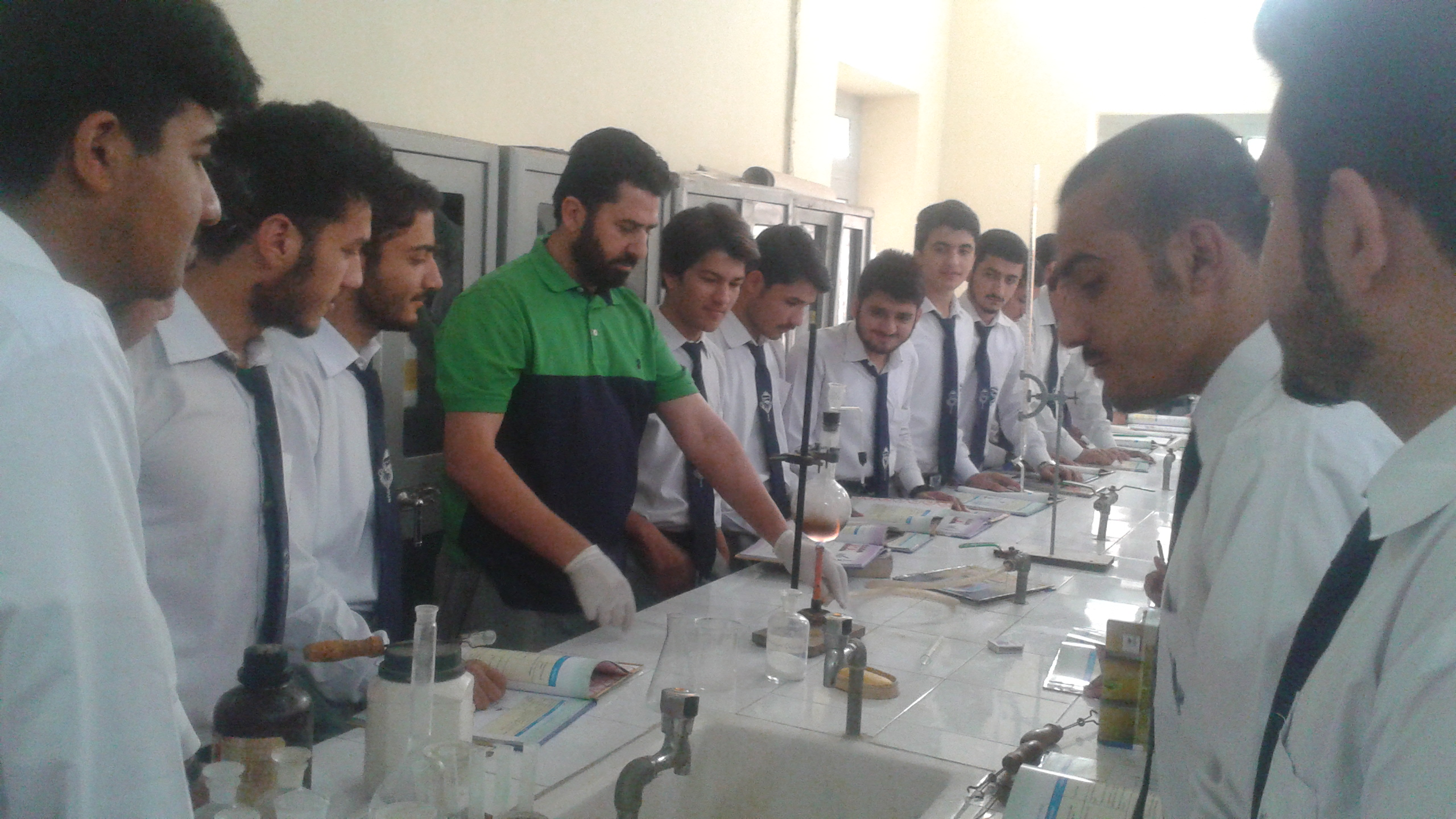 Chemistry Practical Activity by Dr. Latif ur Rahman