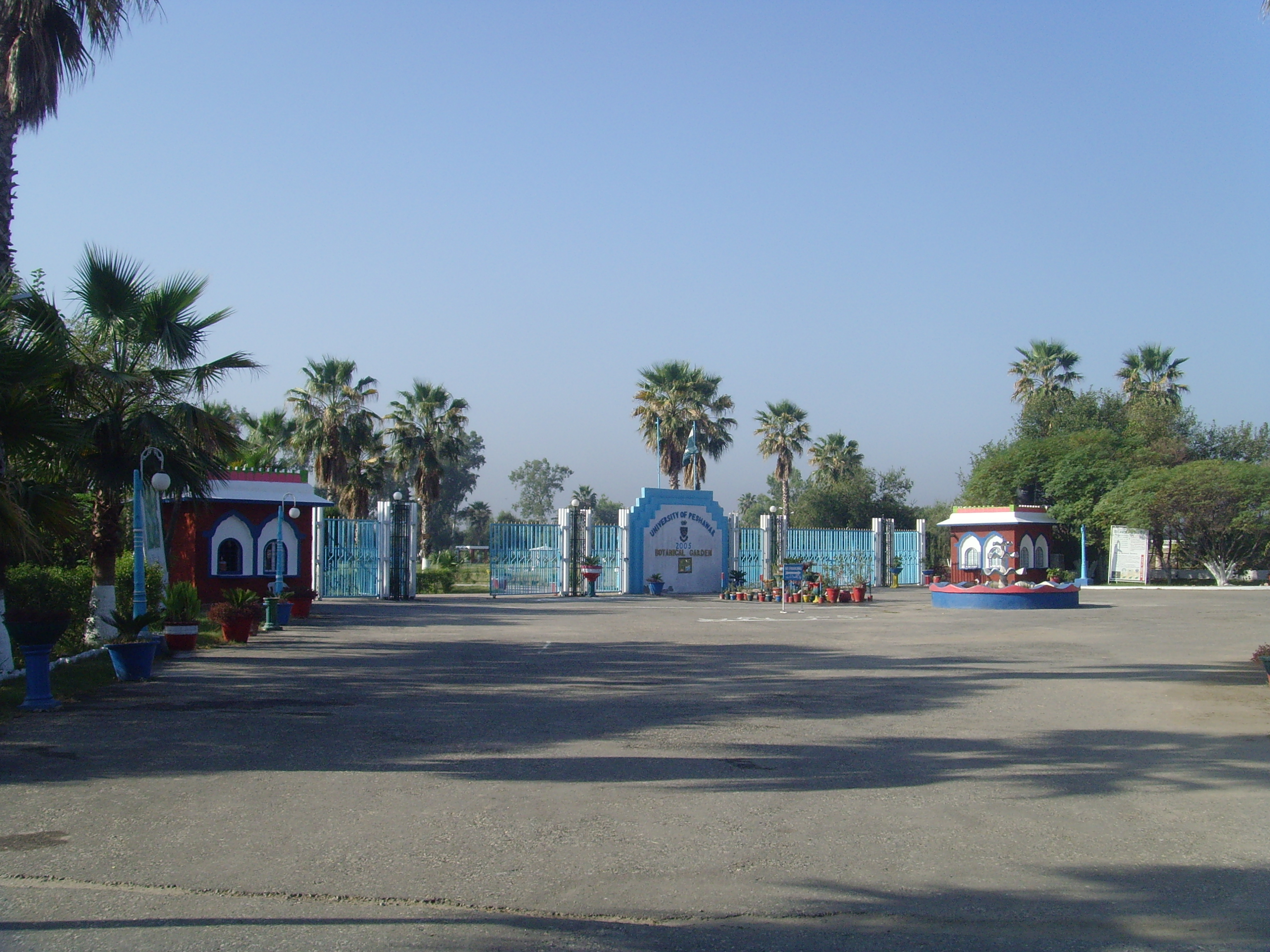 Main Entrance of Botanical Garden