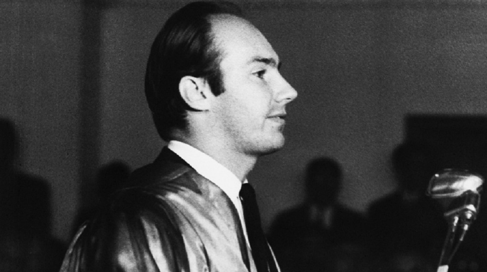 His Highness the Aga Khan delivering a speech after receiving an Honorary Doctorate at University of Peshawar on 30th November, 1967