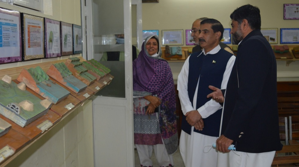 Vice Chancellor UoP Prof. Dr. Muhammad Idrees inaugurated