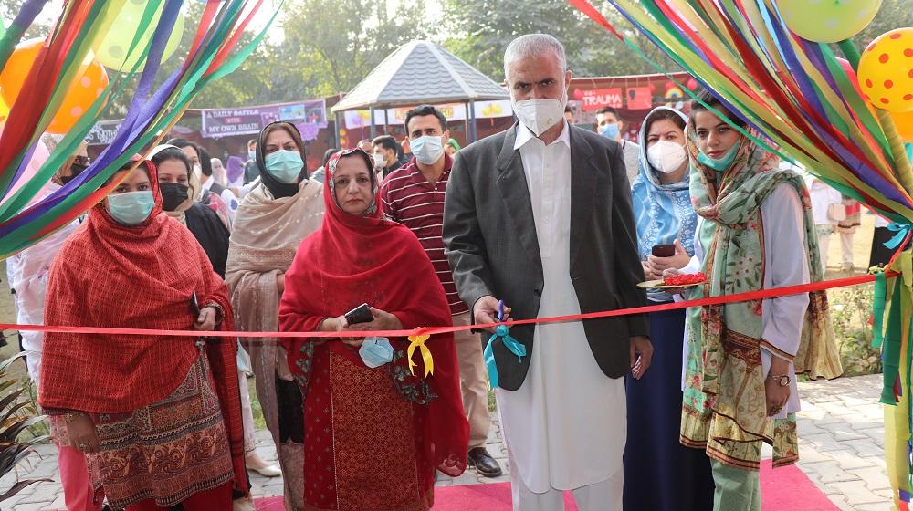 Pro-Vice Chancellor University of Peshawar, Prof Dr Muhammad Abid inaugurates Autism Unit at Department of Psychology, University of Peshawar.