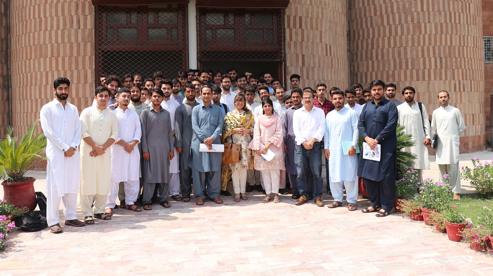 Higher Education Commission and University of Peshawar joint  orientation session for FATA/ Baluchistan students undergraduate scholarships  held at 'SSAQ' museum conference Hall, University of Peshawar on 3rd September, 2019.