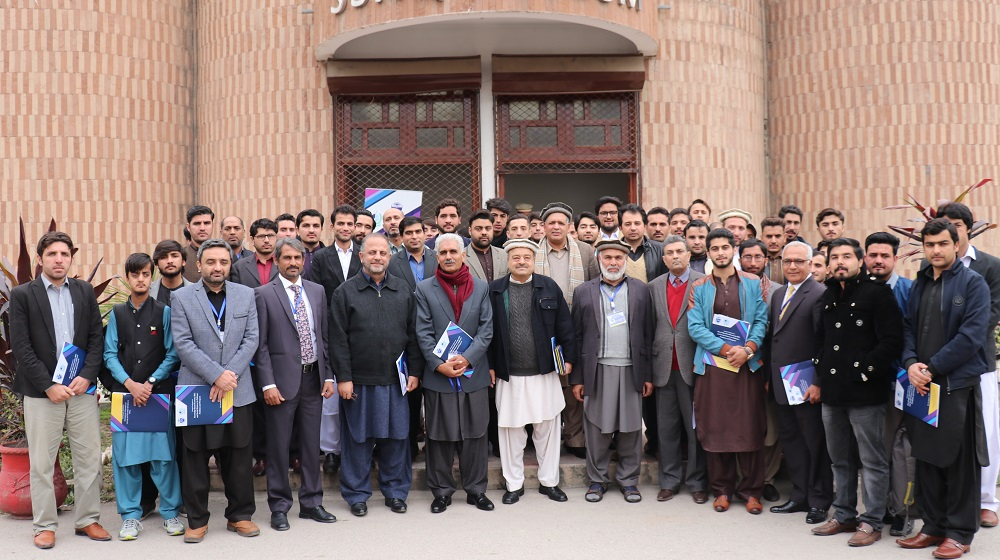 Deans, senior professors and participants of a two day national conference entitled as