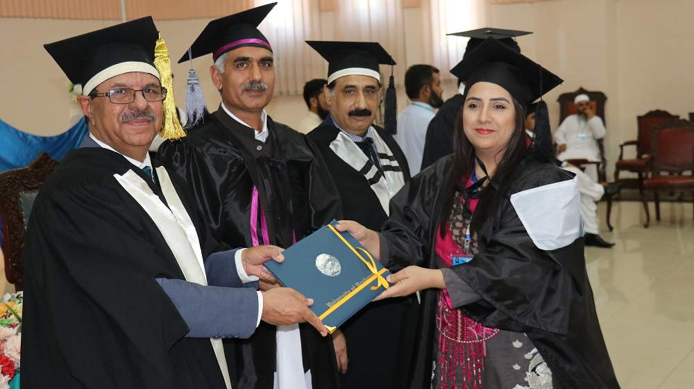 Faculty member of International Relations Dr.Saima Gul is receiving her PhD degree from worthy Vice Chancellor University of Peshawar on the eve of Convocation on 3rd May, 2019.