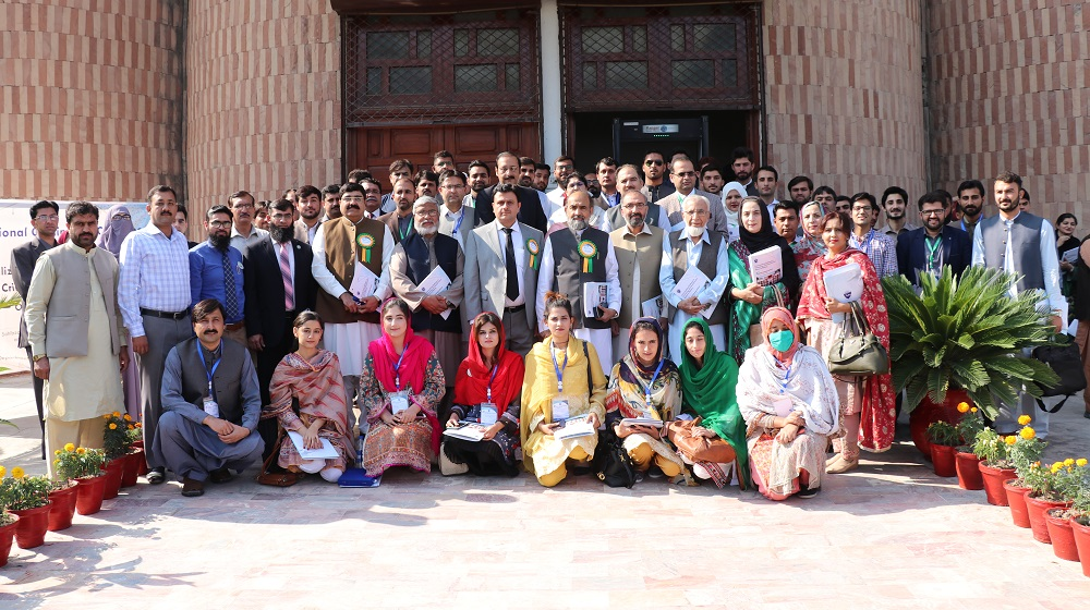 A group photo of participants and paper presenters of 2nd National Conference entitled as