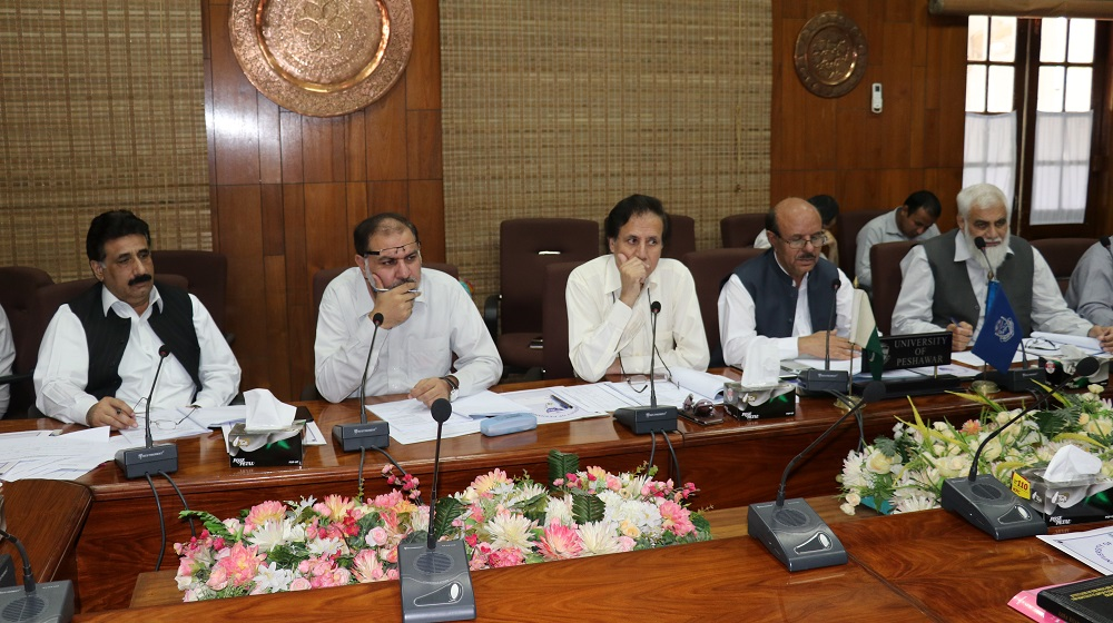 The Vice Chancellor University of Peshawar Prof. Dr. Muhammad Asif Khan is presiding over the selection board along with constituent members on 22nd May 2019.