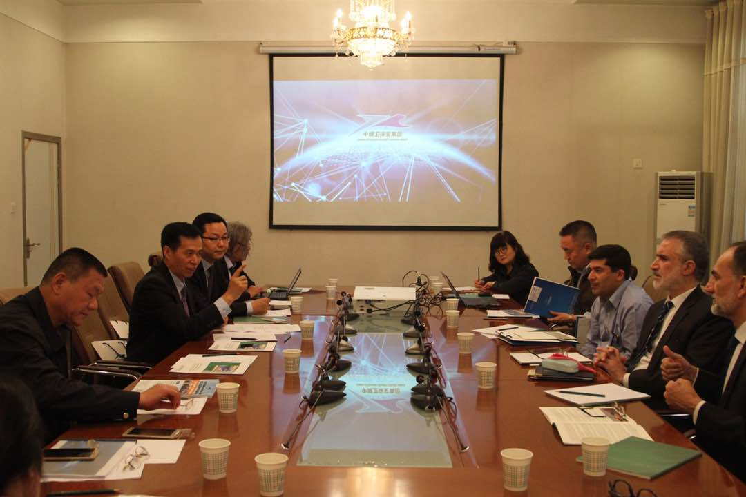 Pro-Vice Chancellor UoP Prof. Dr. Muhammad Abid in discussion with the officials of North West University Xian China