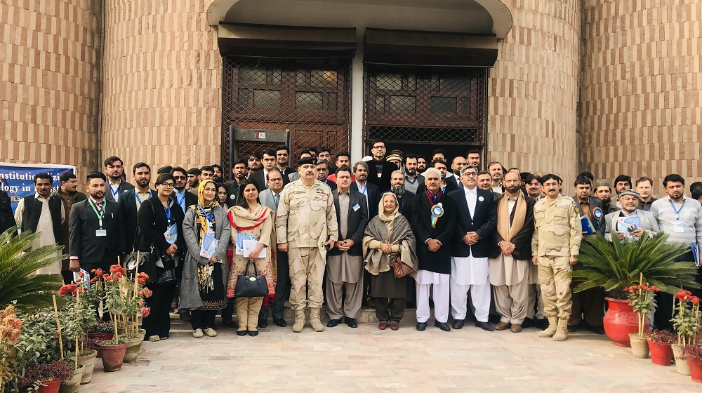 An inaugural group photo of a three day (26-28 Dec, 2018) first-ever national conference entitled as