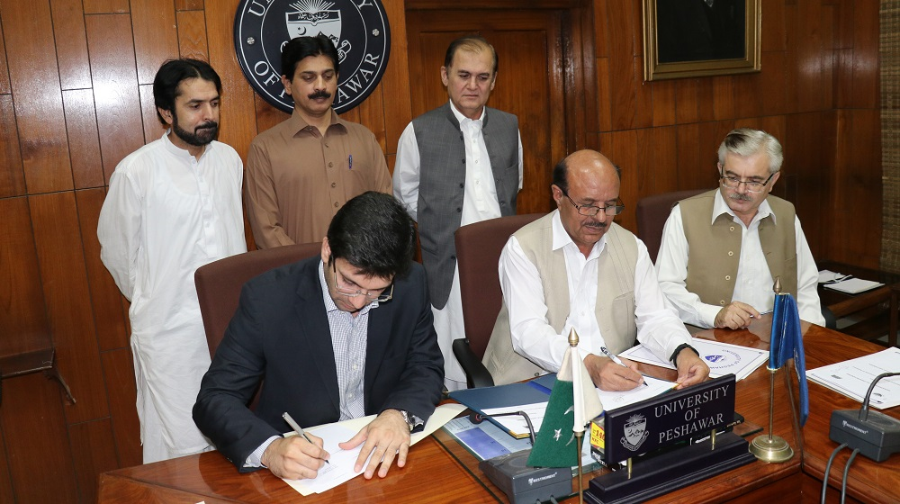 University of Peshawar is inking a memorandum of understanding with Sarhad Chamber of Commerce & Industry to foster academic research linkages and cooperation with the industries on 28th May, 2019.