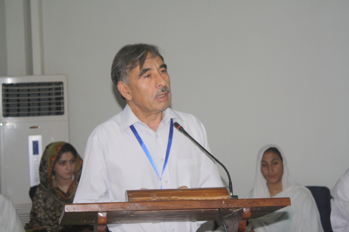 Vice Chancellor University of Peshawar Prof. Dr. Muhammad Rasul Jan
