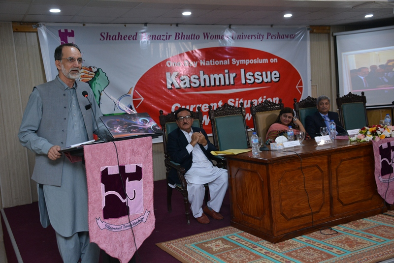PRESENTATION ON CPEC AND KASHMIR IN THE SYMPOSIUM ON KASHMIR ISSUE