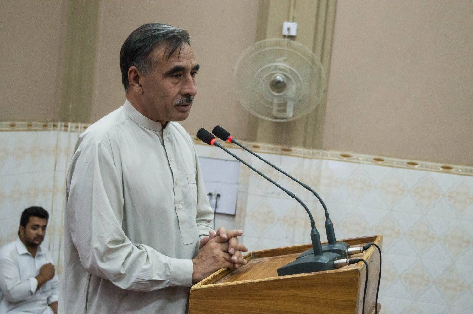 Vice Chancellor University of Peshawar Prof. Dr. Rasul Jan