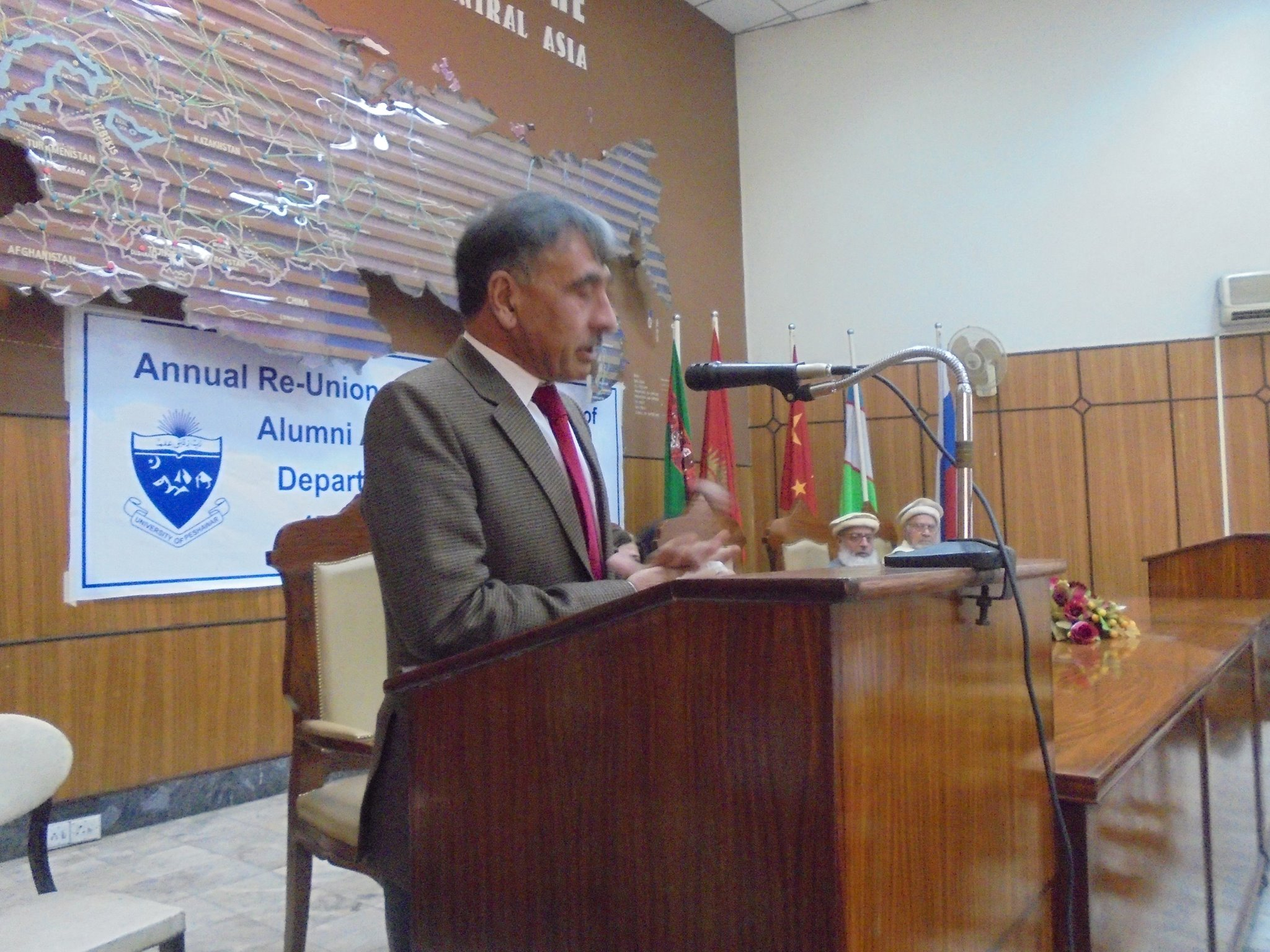 Vice Chancellor University of Peshawar, Prof. Dr. Rasul Jan