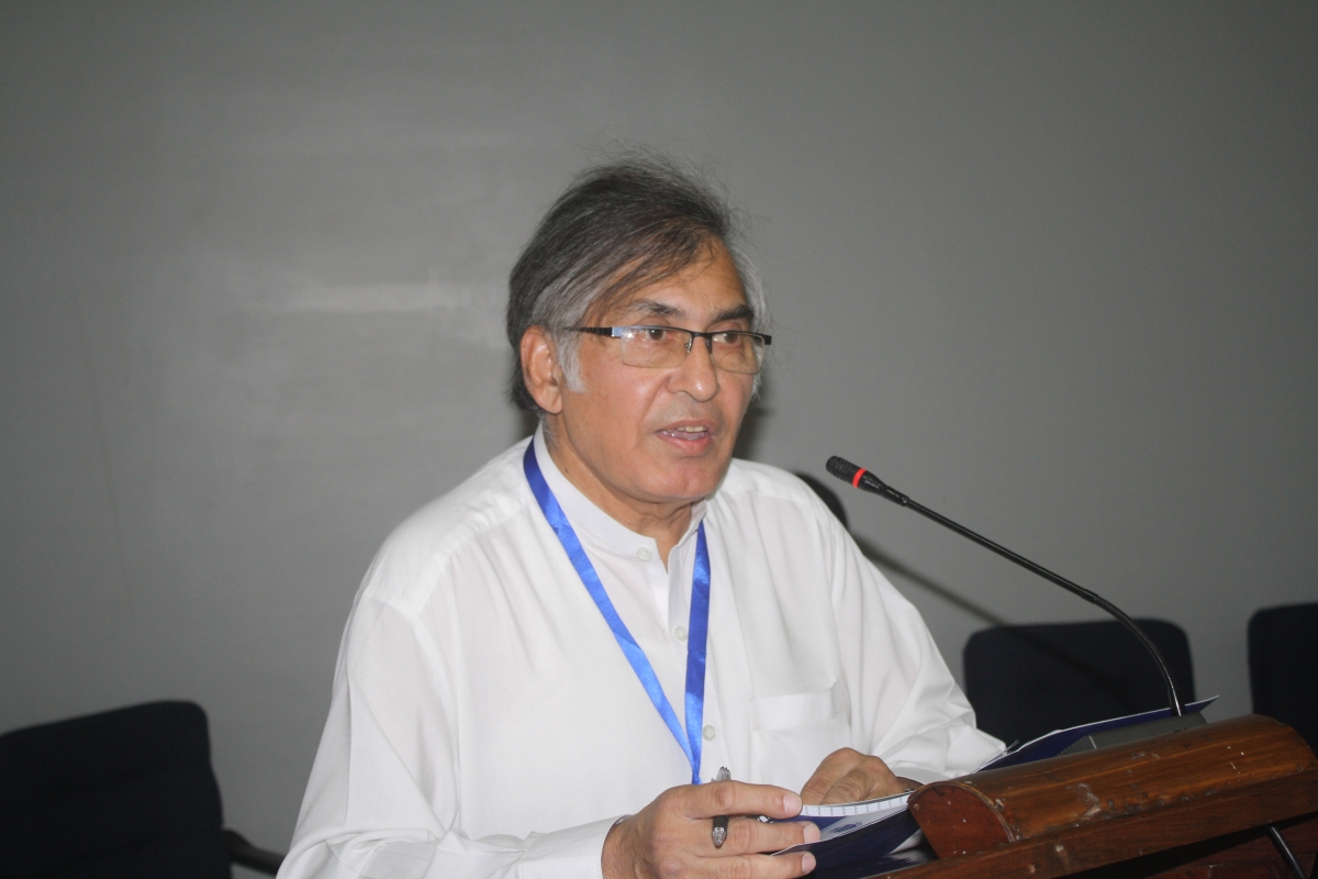 Dean Faculty of Social Sciences, Prof. Dr. Adnan Sarwar
