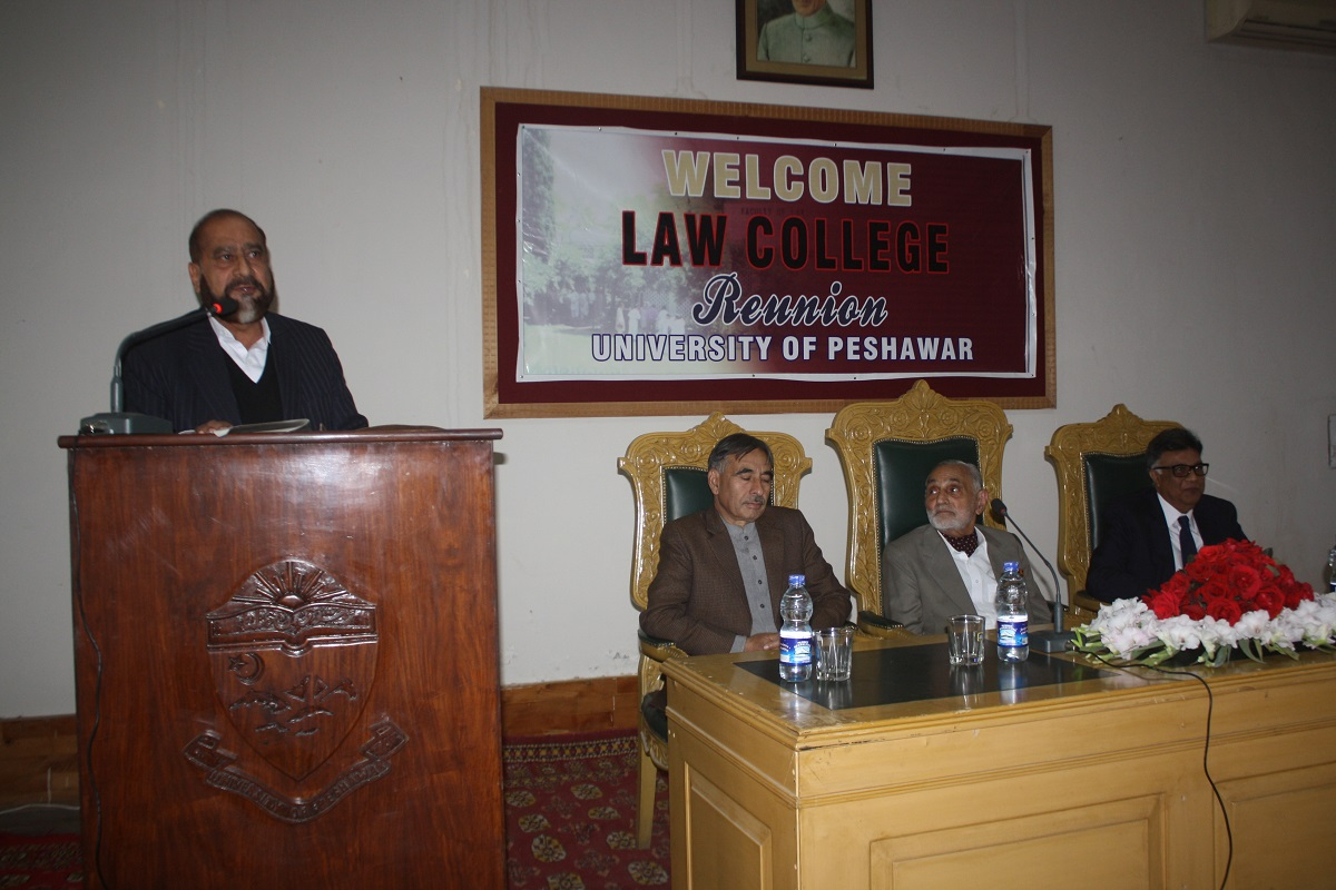 Respected Guest Delivering Speech