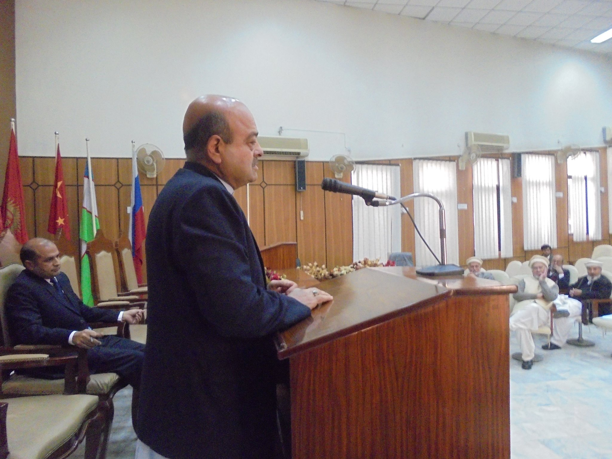 Dean Faculty of Arts and Humanities, Prof. Dr. Syed Minhaj-ul-Hassan