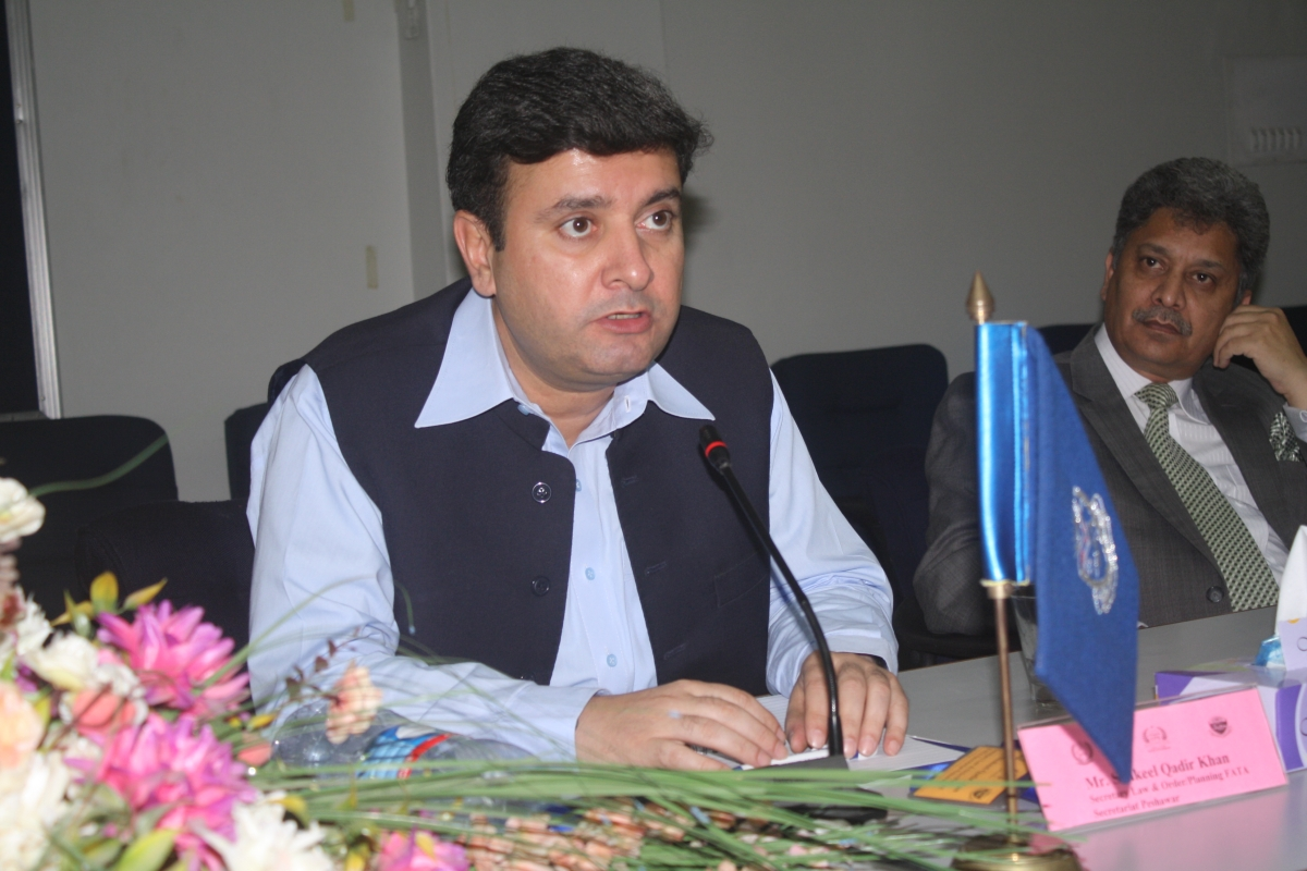 Secretary P&D FATA Sectariat, Mr. Shakeel Qadir Khan