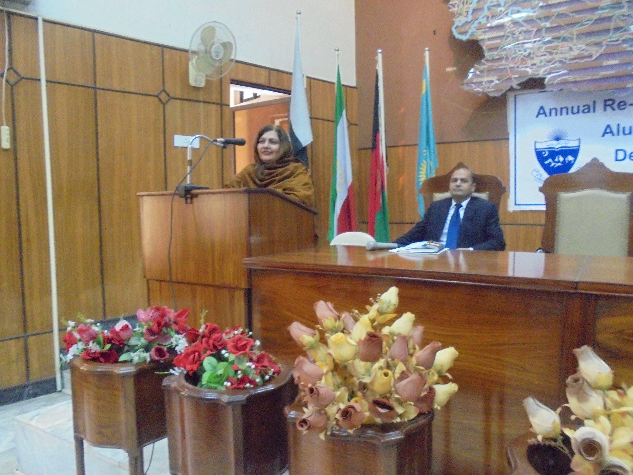 Vice Chancellor Benazir Women University, Prof. Dr. Razia Sultana