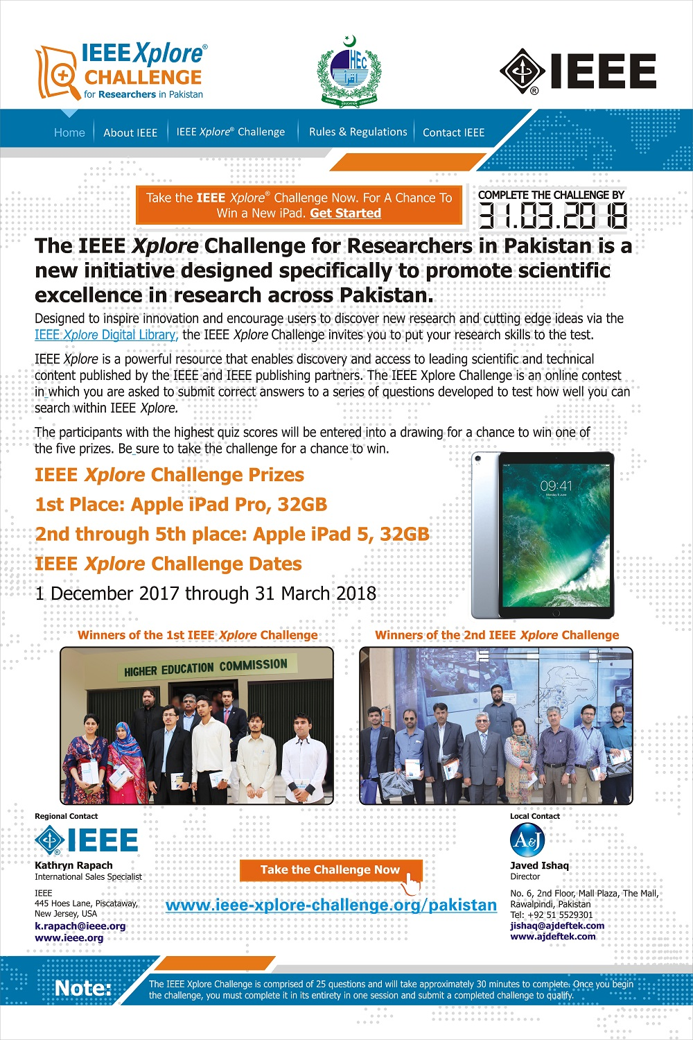 One Day Training workshop on IEEE Xplore Challenge