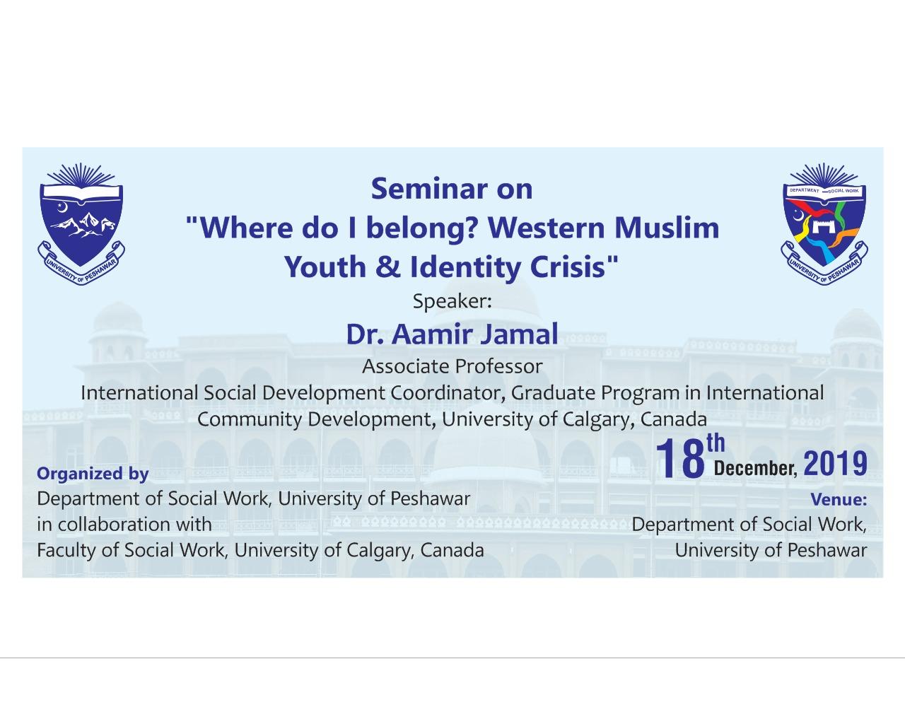 Where Do I belong? Western Muslims Youth & Identity Crisis