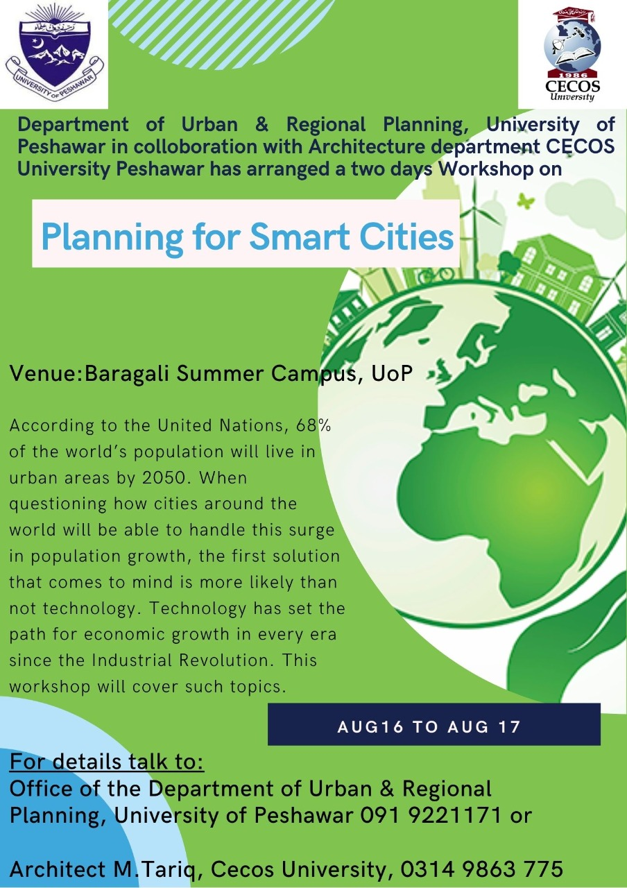 Two-Day Workshop on Planning for Smart Cities