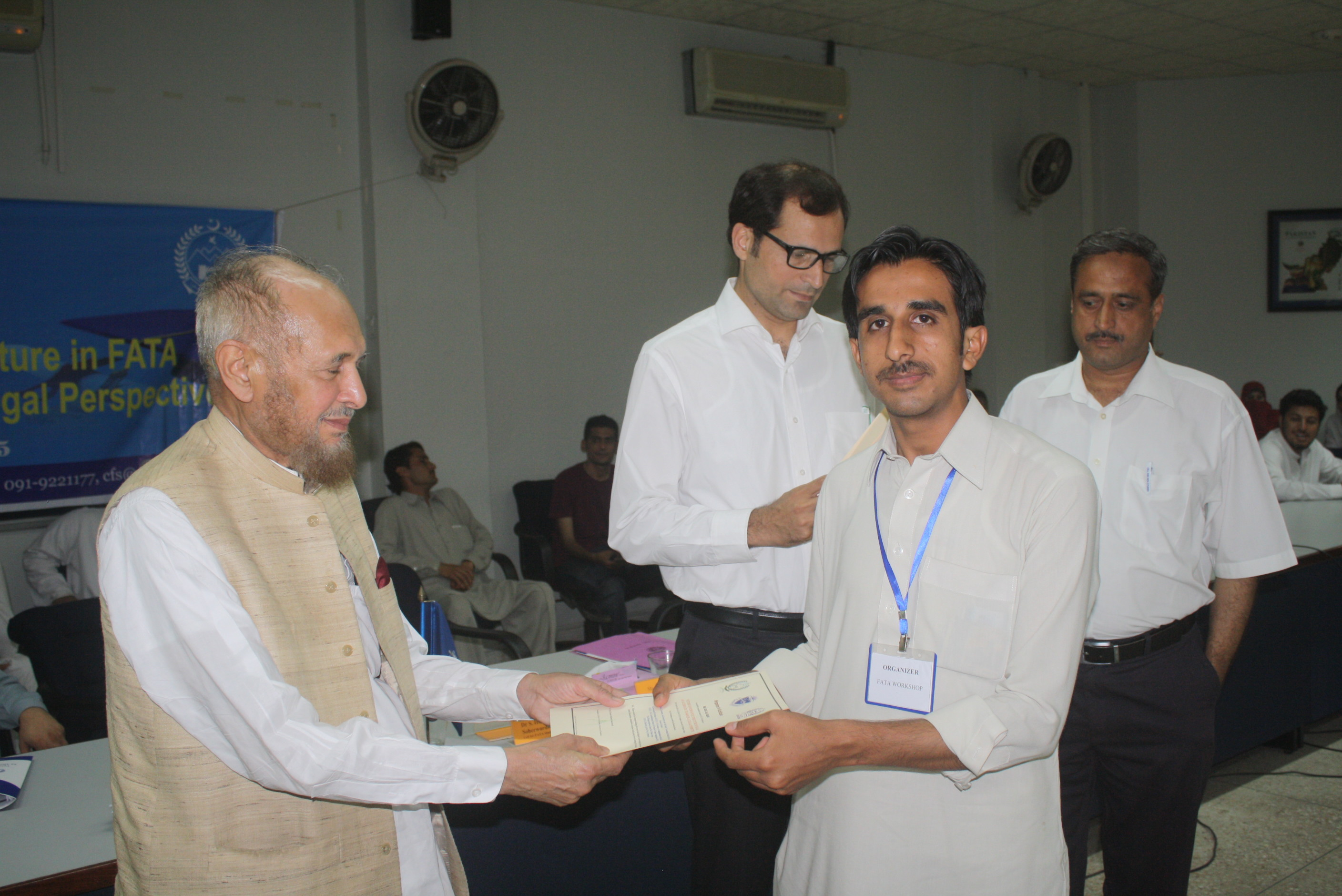 Certificate Distribution Among the Participants