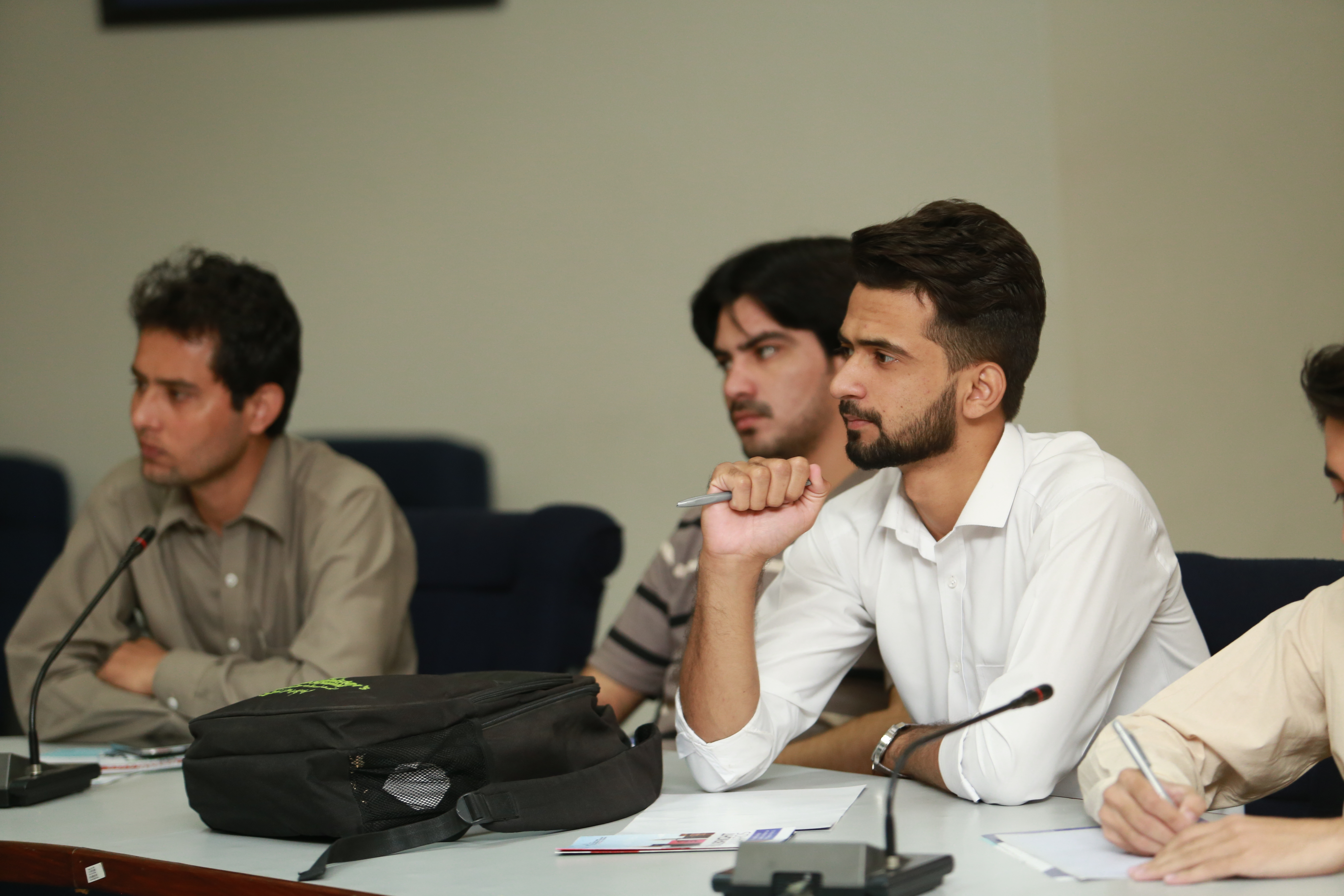 Students during the seminar
