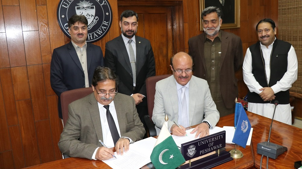 University of Peshawar inks Memorandum of Understanding with Pakistan Standards & Quality Control Authority