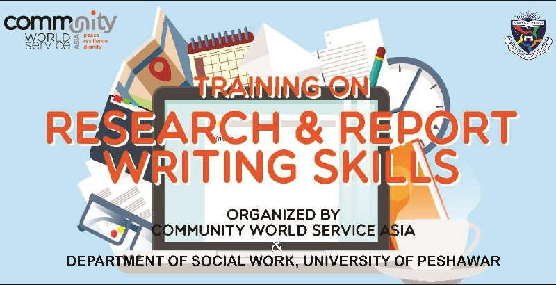 Training on Research & Report Writing Skills