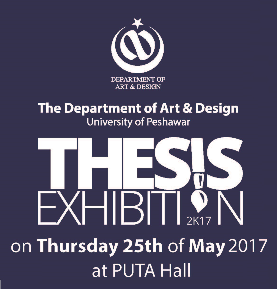Annual Thesis Exhibition, 2017