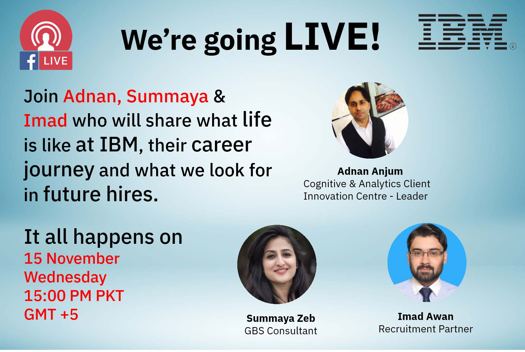 Careers at IBM - Live Session For University Students & Graduates