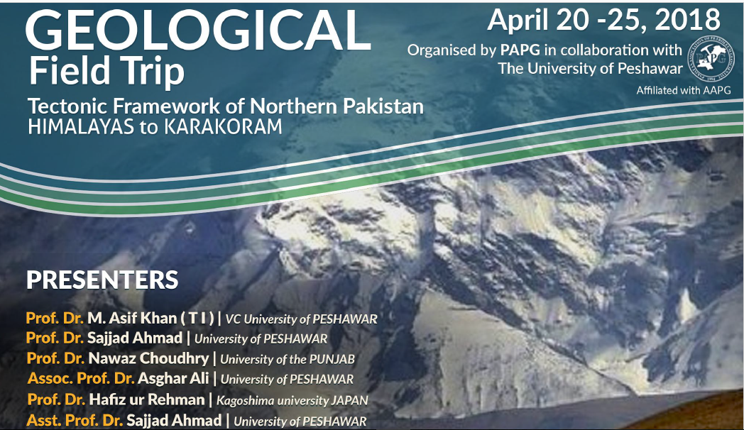 Geological Field Trip: Tectonic Framework of Northern Pakistan Himalayas to Karakoram