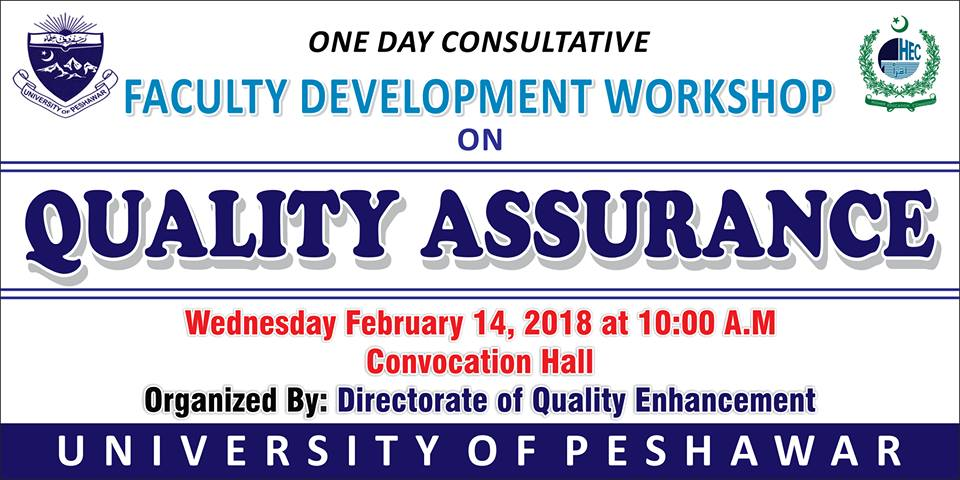 One day Workshop on Quality Assurance